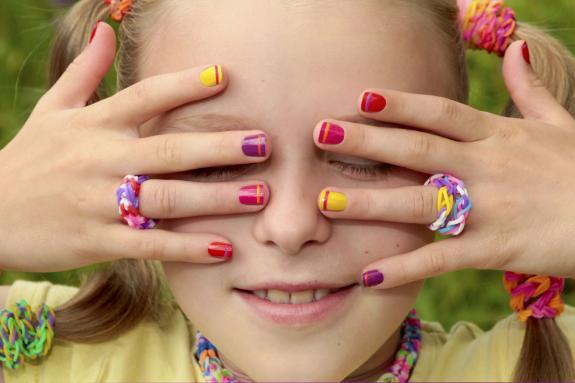 Kids Manicure and Pedicure